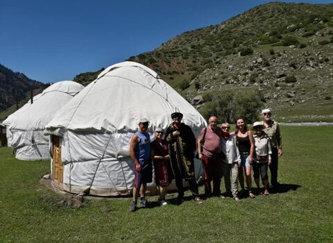 Kyrgyzstan, National Yurt